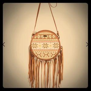 Roxy bohemian fringe purse